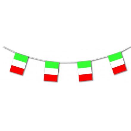 Italy flag bunting