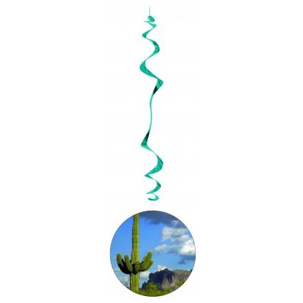 Hawai hanging swirl decoration