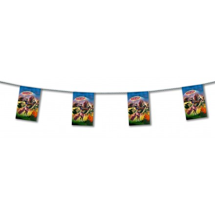 Cowboy western bunting 4,50m themed party decoration