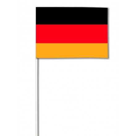 Germany hand-waving flag 14x21cm ( Pack of 100 ) paper hand held party decoration