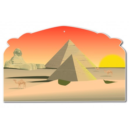 Egypt cutout 32 x 47cm cheap hanging party decoration
