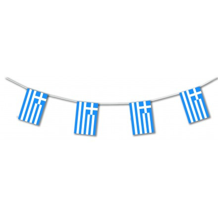 Greece plastic bunting