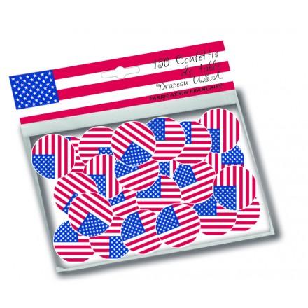 USA flag confetti ( 150 pcs ) table decoration