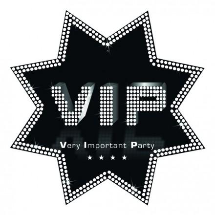 star cutout VIP