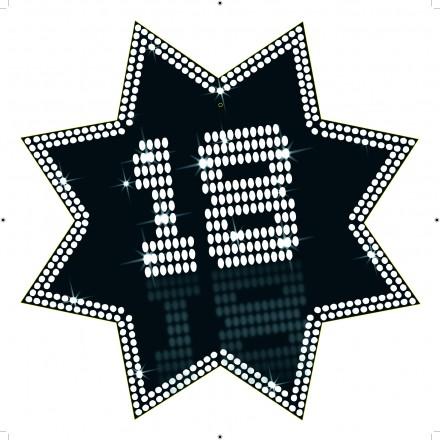 star cutout 18 VIP