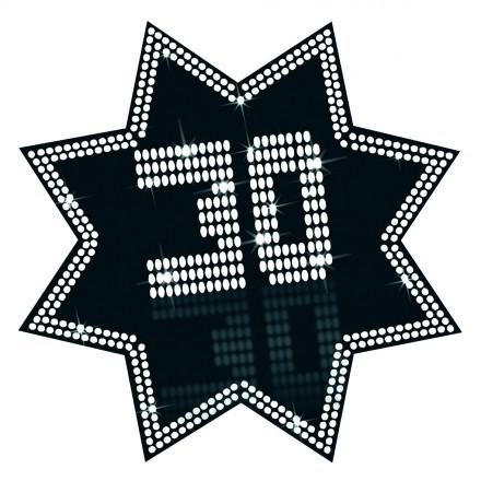star cutout 30 VIP