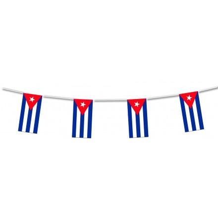 Cuba flag bunting
