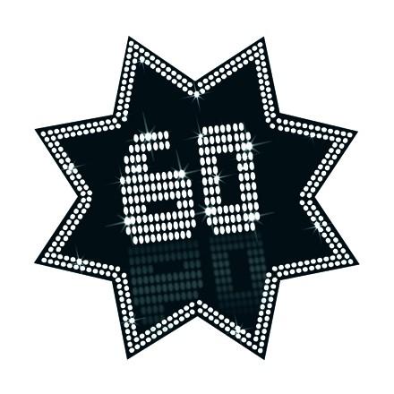 star cutout 60VIP