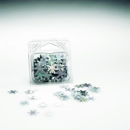 Hologram snowflakes glitter 20g