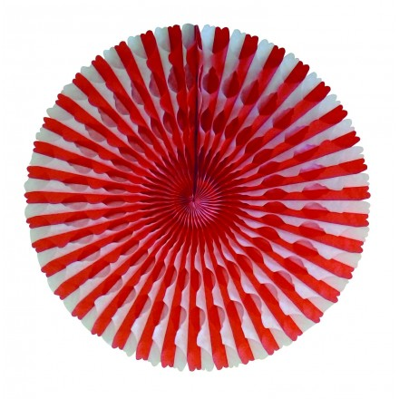 honeycomb fan 50cm St George party decoration flameproof paper