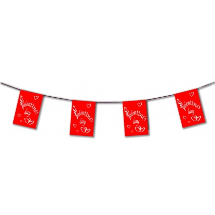 St Valentine's day bunting