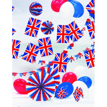 Union Jack kit British set United Kingdom pack Patriotic party decoration