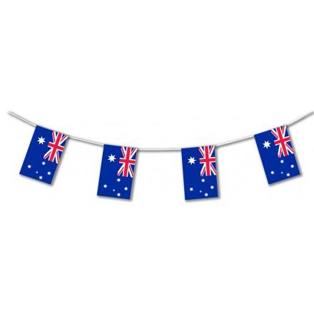 Australia plastic flag bunting