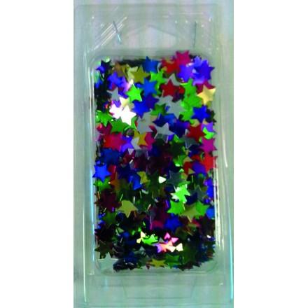Multicolored Star Glitter 25g