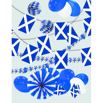 Scotland kit St Andrew set Scottish set party decoration