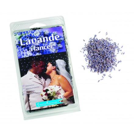 Lavender Natural Wedding Confetti 500g