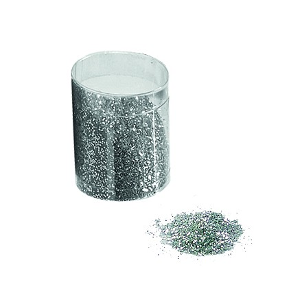 silver glitter 30g Christmas table decoration