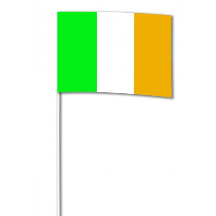 Ireland Hand-waving flag