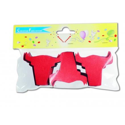 bull tissue confetti