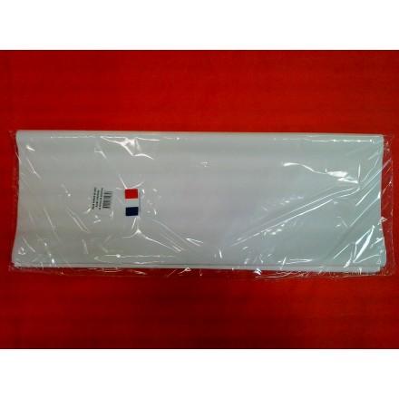 White tissue paper wrap