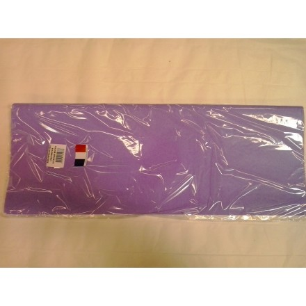 Lilac tissue paper wrap