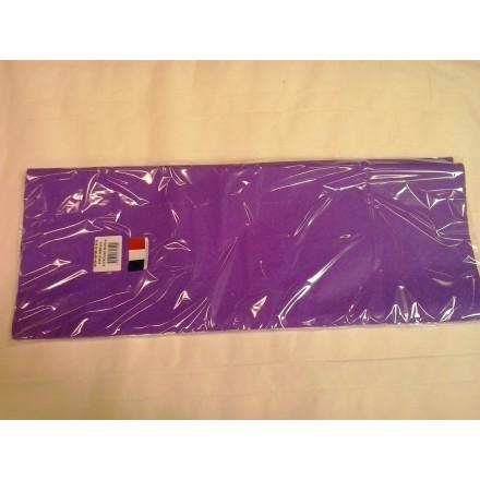 Purple tissue paper wrap