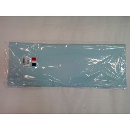 Light blue tissue paper wrap