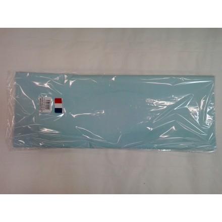 Light blue tissue paper wrap