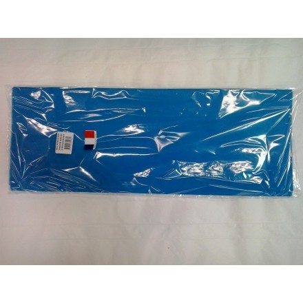 Turquoise blue tissue paper wrap