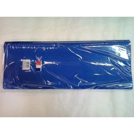 Dark blue tissue paper wrap