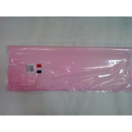 Light pink tissue paper wrap