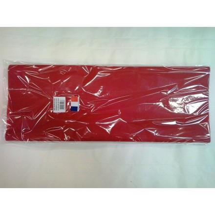 Burgundy tissue paper wrap