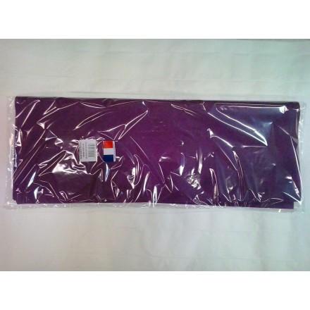 Plum tissue paper wrap