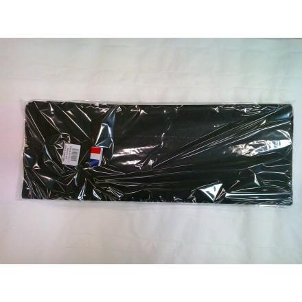 Black tissue paper wrap