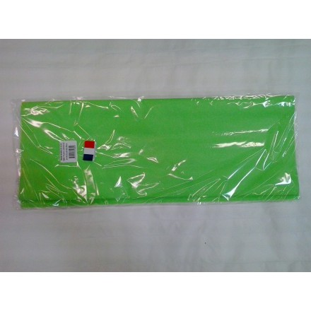 Green tissue paper wrap