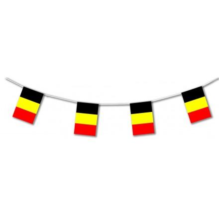 Belgium plastic flag bunting