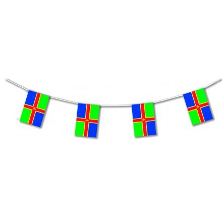 Lincolnshire plastic flag bunting
