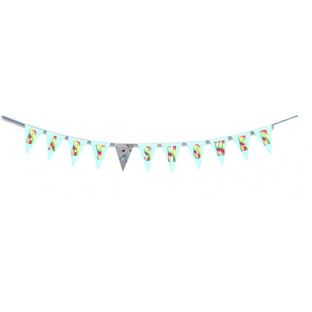 Baby Shower bunting 13ft/4m lengths party room decoration
