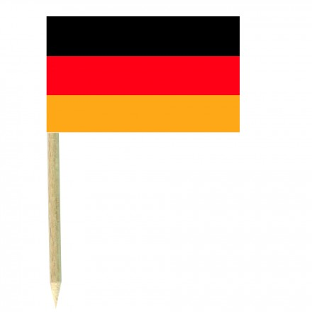 German cocktail picks - pack of 50 food wood sticks party decorating