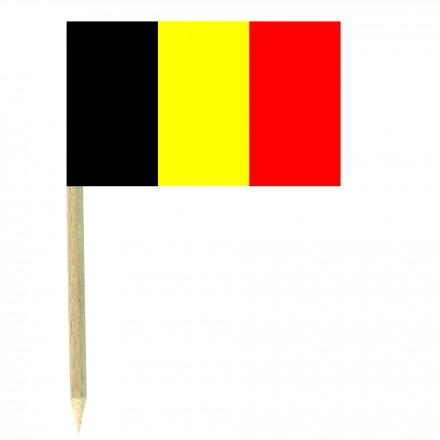 Belgium cocktail picks - pack of 50