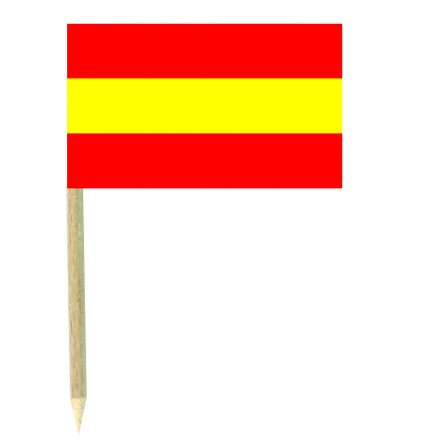 Spanish cocktail picks -pack of 50 food wood sticks party decoration