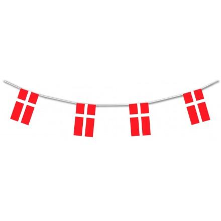 Danish plastic flag bunting