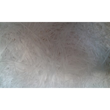 Extra Soft Shredded Tissue Paper white