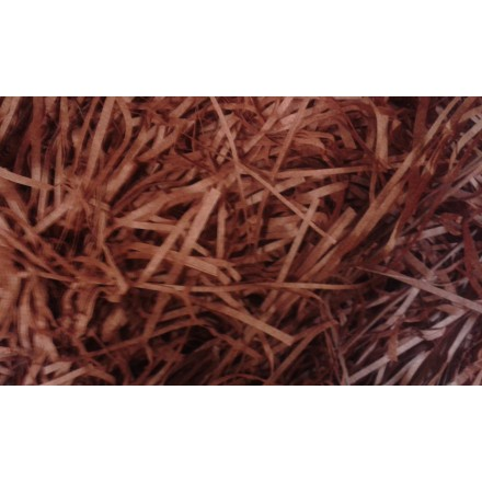 Extra Soft Shredded Tissue Paper brown