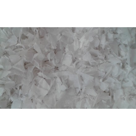 Snowflakes 14mm flame-resistant tissue paper