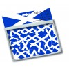 Scottish flag confetti