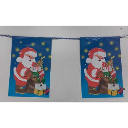 Merry Christmas bunting 15ft/4,50m lengths