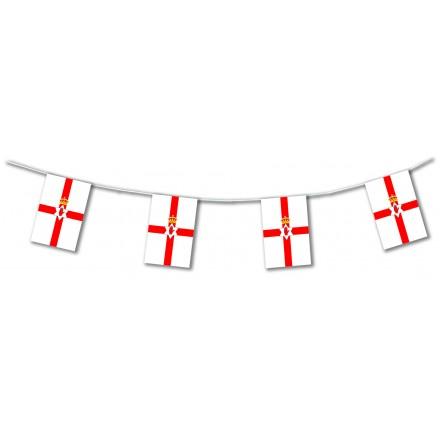 Northern Ireland flag bunting