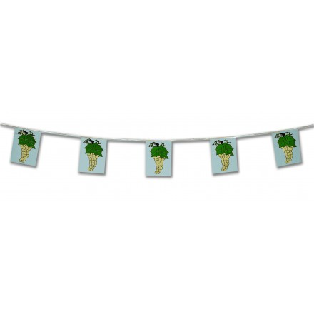 grape bunting wine festival party decoration indoor and outdoor use