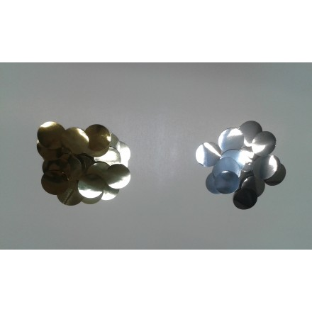 Foil Circle 25mm Confetti choose the color